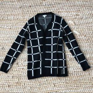 Charming Charlie plaid sweater